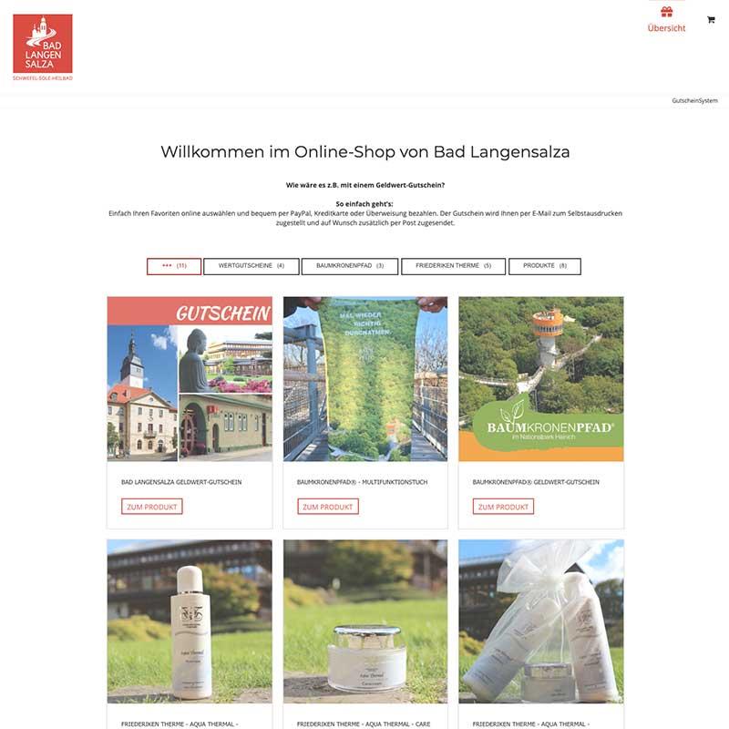 GutscheinSysten & Shop Bad Langensalza - Referenzen von simpliby