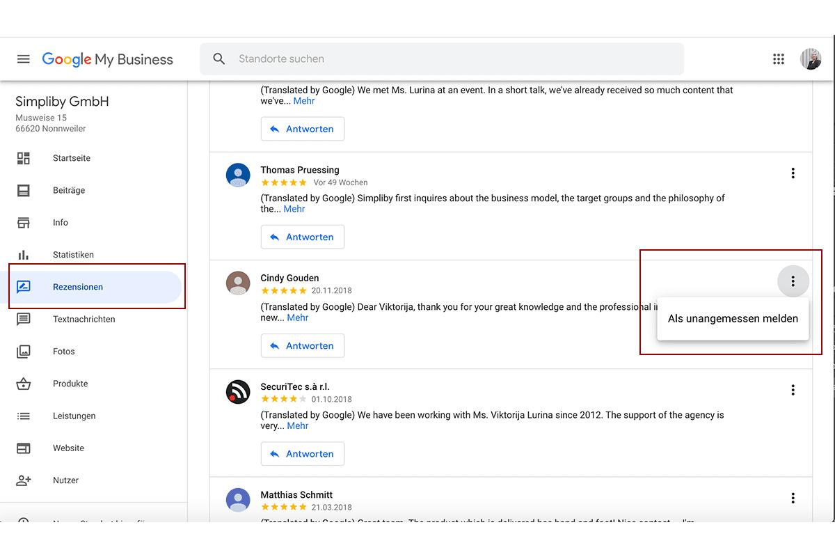 google-bewertung-loeschen-google-my-business-markieren
