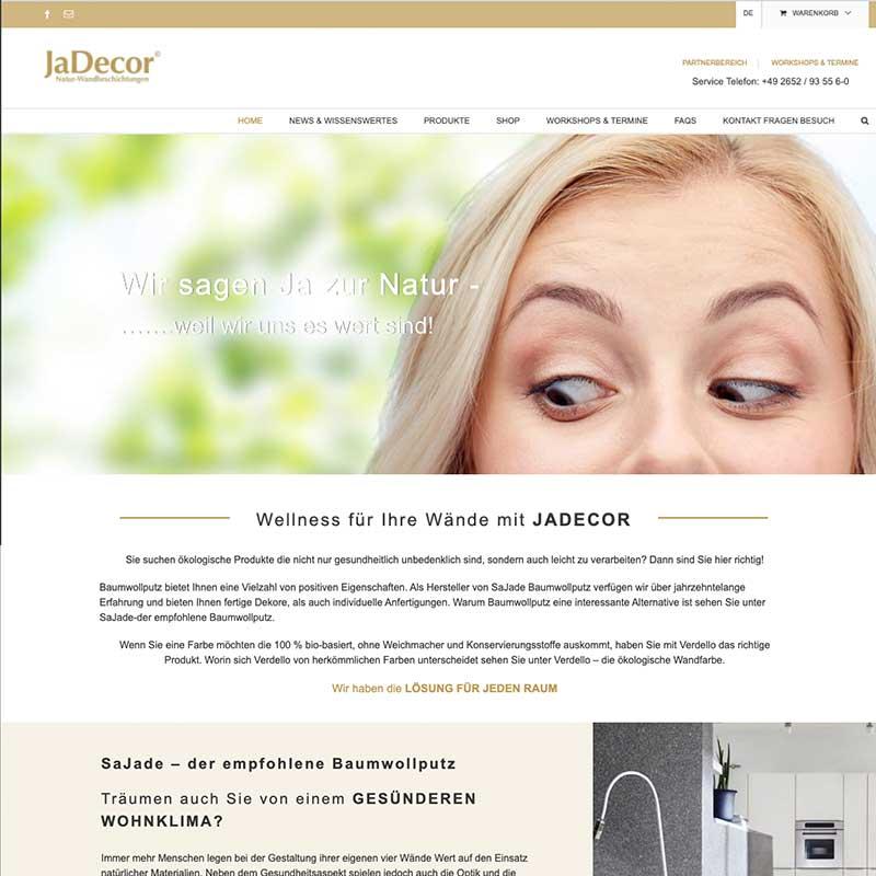 Online Shop von JaDecor - Referenzen von simpliby