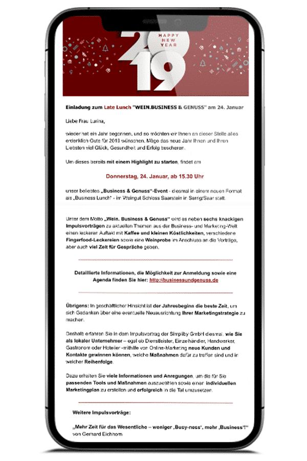 Newsletter - Online Marketing für lokale Unternehmen