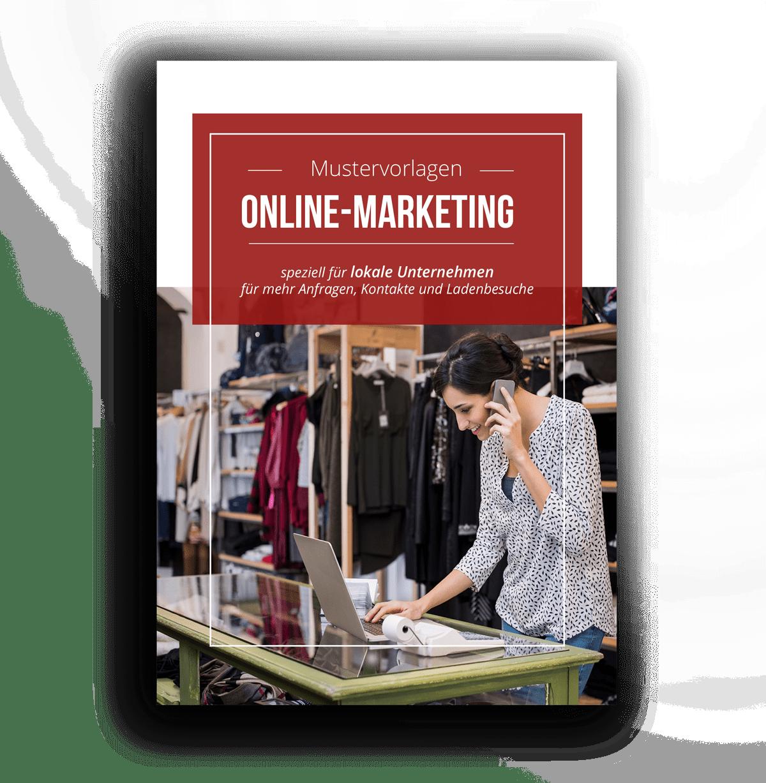 Online Marketing Mustervorlagen für lokale Unternehmen von Simpliby GmbH